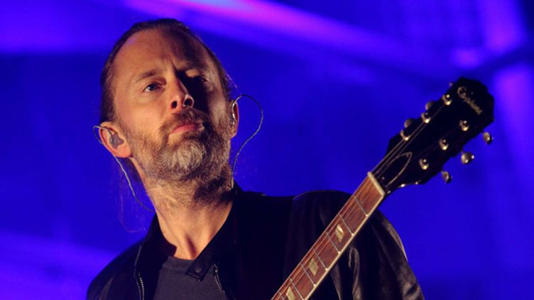 Thom Yorke de Radiohead.  (John Davisson/AP/SIPA)