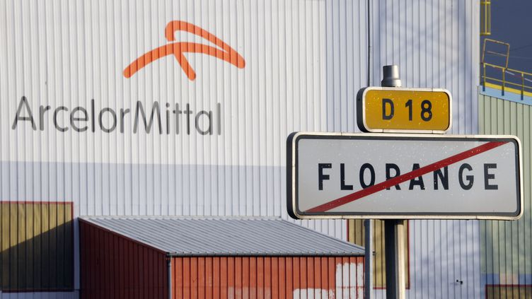 Selon une étude interne, rendue publique mercredi 12 décembre, le site ArcerlorMittal de Flroange(Moselle) serait l'un des plus rentable d'Europe. (JEAN-CHRISTOPHE VERHAEGEN / AFP)