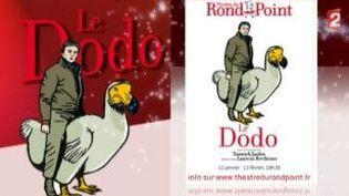 """Yannick Jaulin parle du """"Dodo"""", son nouveau spectacle au théâtre du Rond-Point  (Culturebox)"""