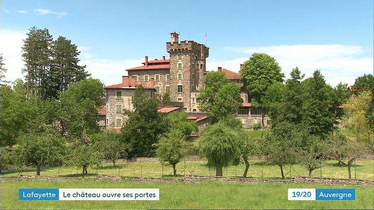 Le château de Chavaniac-Lafayette en Haute-Loire (France 3 Auvergne)