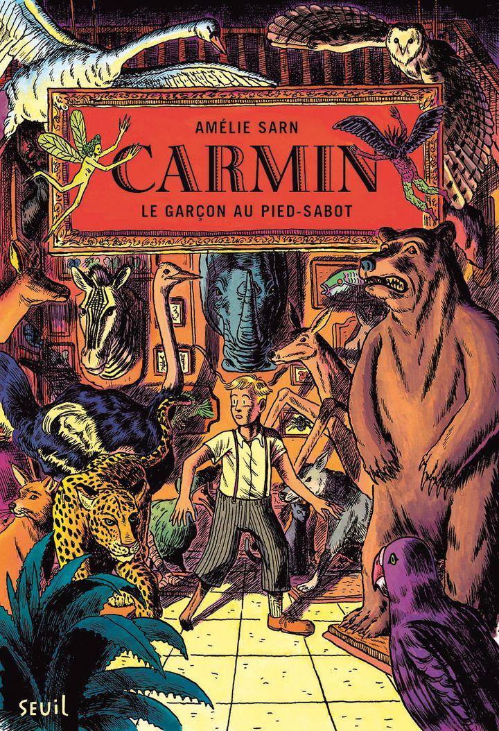 Prix Pépite Fictions junior : Carmin Volume 1, Le garçon au pied-sabot, Amélie Sarn, Seuil Jeunesse (Seuil Jeunesse)