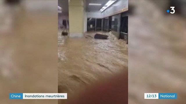 Chine : des inondations meurtrières frappent la ville de Zhengzhou
