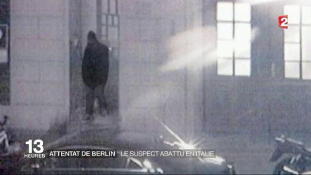 Attentat de Berlin : le suspect abattu en Italie