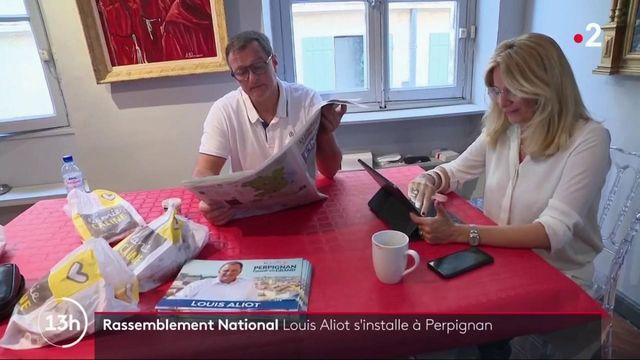 Municipales : Louis Aliot s'installe à Perpignan