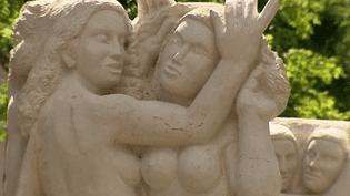 La femme, l'un des thèmes de prédilection de l'artiste auvergnat Jean Chauchard.  (France 3 / Culturebox)
