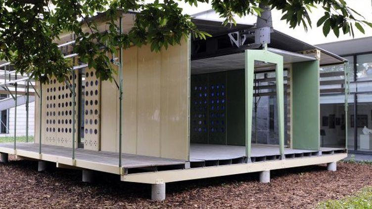 La maison tropicale de Jean Prouvé au musée des Beaux-Arts de Nancy en 2012  (JEAN-CHRISTOPHE VERHAEGEN / AFP)