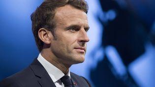 Emmanuel Macon, président de la République française. (THOMAS BR?GARDIS / MAXPPP)