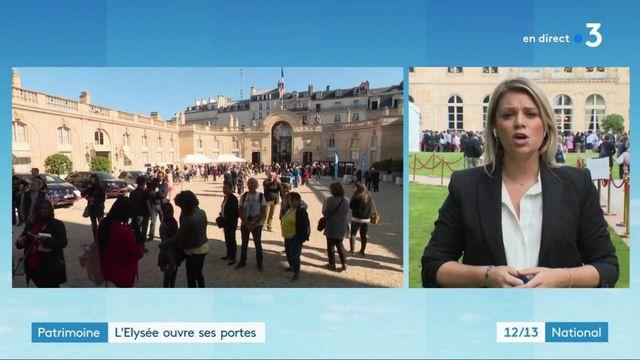 Journées du patrimoine : l'Élysée ouvre ses portes