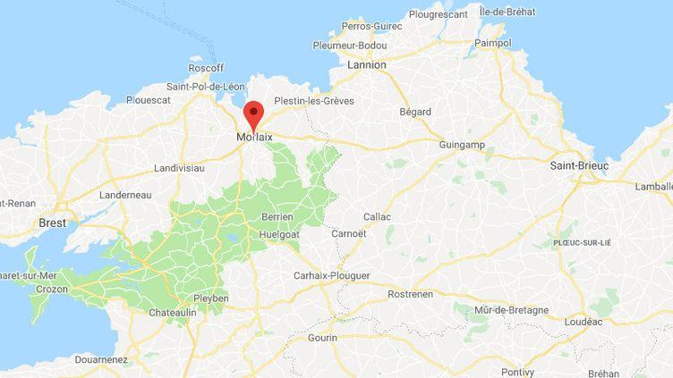 Morlaix dans le Finistère. (GOOGLE MAPS)