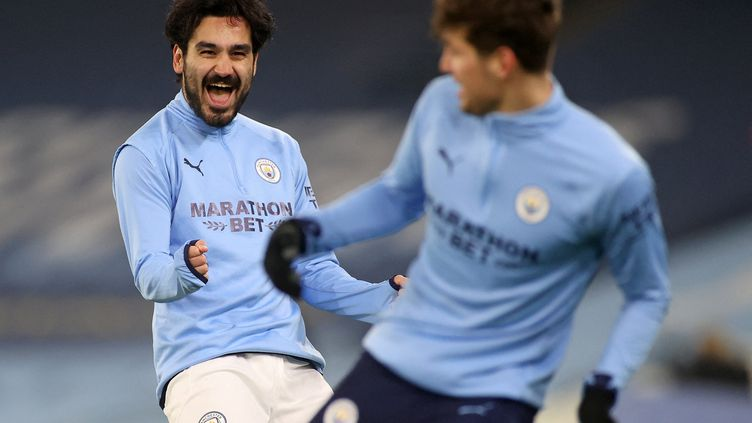 Devenu serial buteur, Ilkay Gündogan est le symbole d'un Manchester City en plein renouveau. (CARL RECINE / POOL)