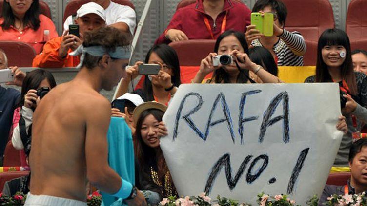 Rafael Nadal retrouve sa place de N.1 mondial à Pékin