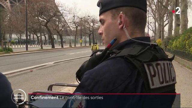 Confinement : les policiers verbalisent dans la capitale