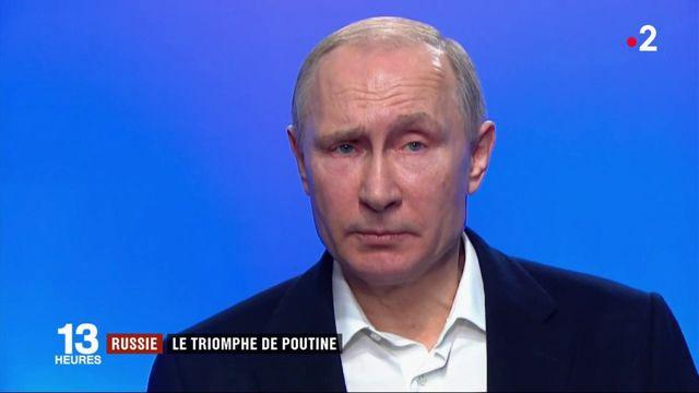 Russie : le triomphe de Vladimir Poutine