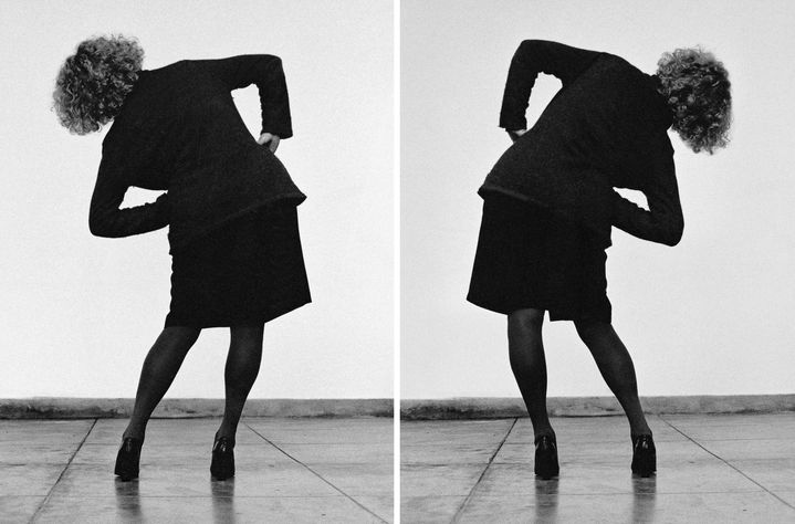 "Helena Almeida, ""Seduzir"" (Séduire), 2002, coll. Helga de Alvear, Madrid / Caceres  (Photo Laura Castro Caldas et Paulo Cintra, courtesy Galeria Helga de Alvear, Madrid / Caceres)"