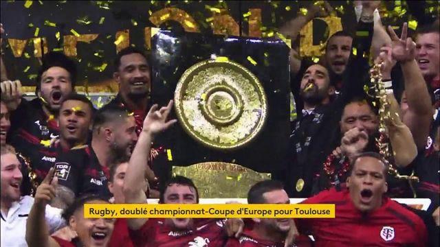 Finale Top 14 : le Stade toulousain rafle la victoire