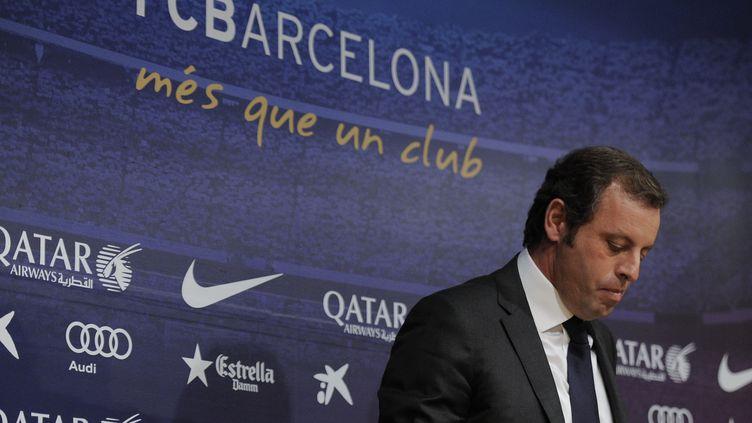 Sandro Rosell. (JOSEP LAGO / AFP)