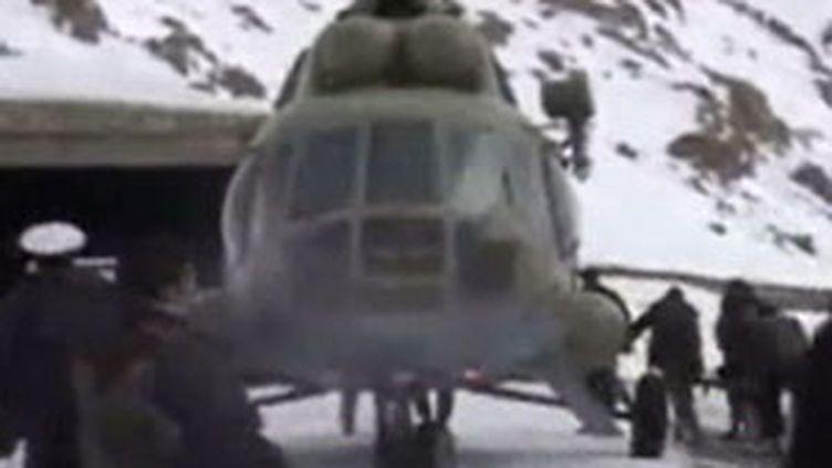 Avalanches meurtrières en Afghanistan, le 11 février 2010. (France 3)