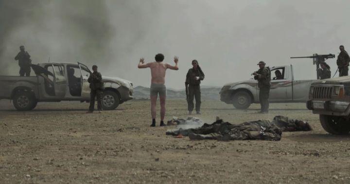 En Syrie, Antoine (Félix Moati) tente de retrouver sa soeur, qu'il croit engagé auprès des combattantes kurdes. (ARTE)