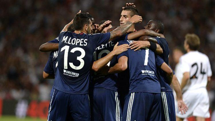 Lyon lance sa campagne de C1 face au Grasshopper (PHILIPPE DESMAZES / AFP)