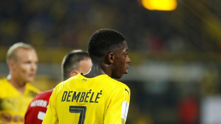 Le Français Ousmane Dembélé. (LEON KUEGELER / ANADOLU AGENCY)