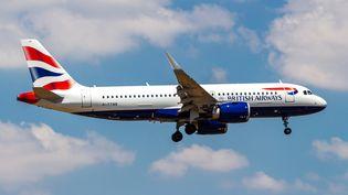 Un avion de laBritish Airways, le 15 juillet 2019. (NICOLAS ECONOMOU / NURPHOTO)