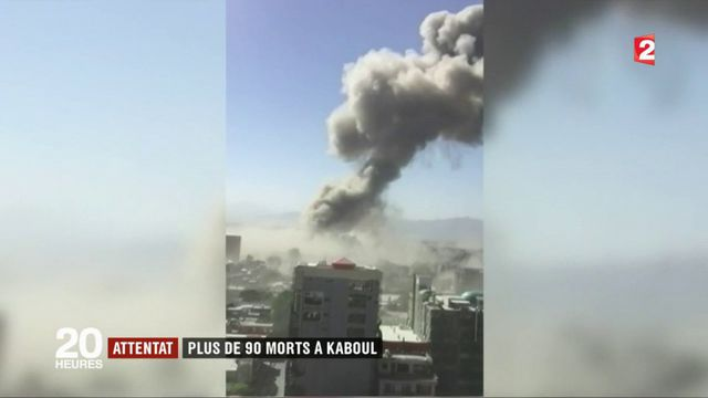 Kaboul : un attentat à la bombe fait au moins 90 morts