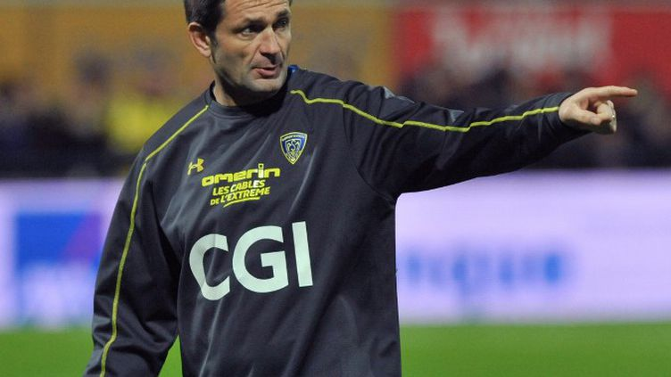Franck Azéma, le manager de l'ASM Clermont Auvergne. (THIERRY ZOCCOLAN / AFP)