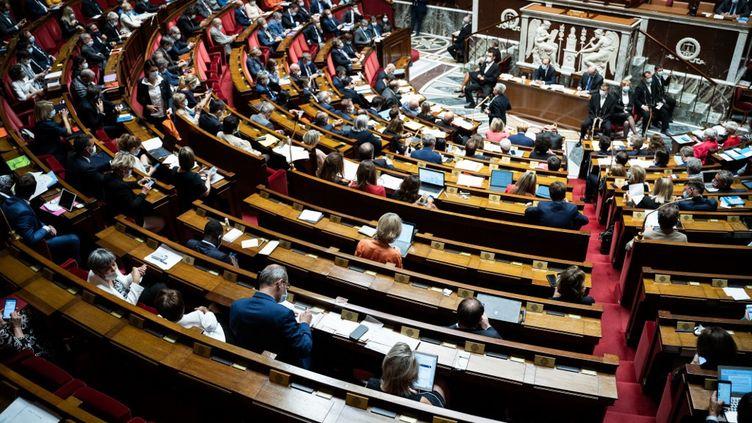 L'Assemblée nationale, le 28 juillet 2020. (XOS? BOUZAS / HANS LUCAS)