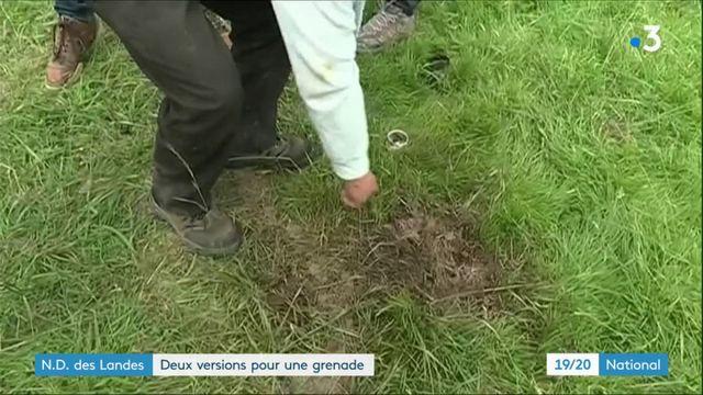 Notre-Dame-des-Landes : deux versions pour une grenade