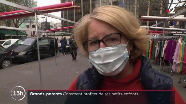 Coronavirus : la crainte de la maladie n'empêche pas les grands-parents de profiter de leurs petits-enfants