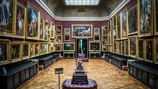 Une pièce du musée Condé au Château de Chantilly (Oise), le 28 janvier 2021. (STEPHANE DE SAKUTIN / AFP)