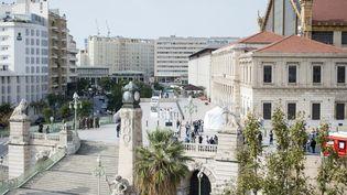 L'attaque s'est produite à proximité de la gare Saint-Charles de Marseille. (BERTRAND LANGLOIS / AFP)