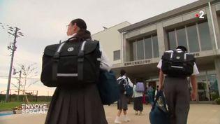 Fukushima : victimes de harcèlement, les enfants évacués préfèrent rentrer chez eux (FRANCE 2 / FRANCETV INFO)