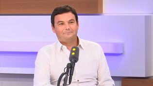 L'économiste et chercheur en sciences sociales Thomas Piketty invité de franceinfo le 13 septembre 2019 (RADIO FRANCE)