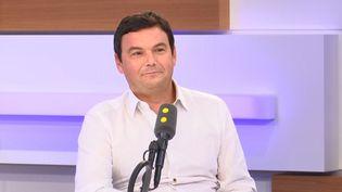 L'économiste et chercheur en sciences sociales Thomas Piketty invité de franceinfo le 13 septembre 2019 (RADIO FRANCE)
