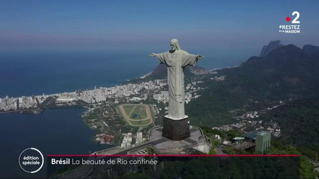 Confinement au Brésil : la ville de Rio déserte et paisible