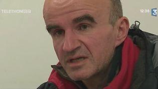 Stéphane Klipfel, qui a perdu son logement. (FRANCE 3)