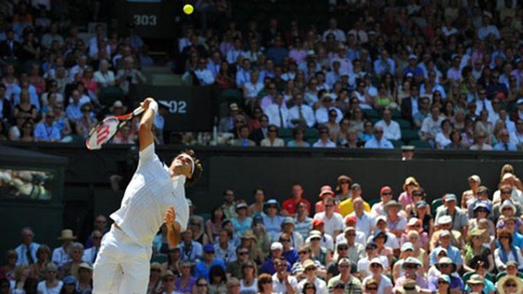 Roger Federer s'est qualifié facilement pour les quarts de finale