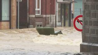 Inondations : scènes de chaos en Belgique, sévèrement frappée par les intempéries (France 3)