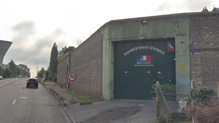 Un homme a été abattu par balles devant la maison d'arrêt d'Évreux, dans l'Eure. (GOOGLE MAPS)