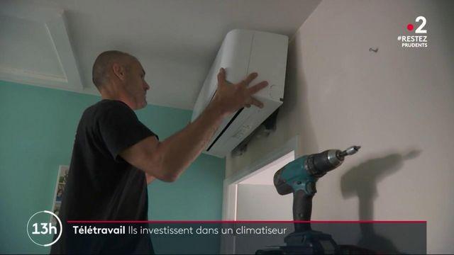 Été : les particuliers investissent de plus en plus dans les systèmes de climatisation