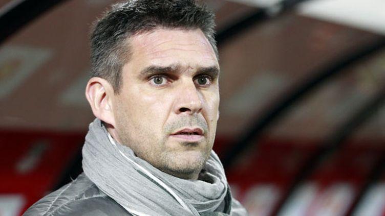L'entraîneur de Bordeaux, Jocelyn Gourvennec