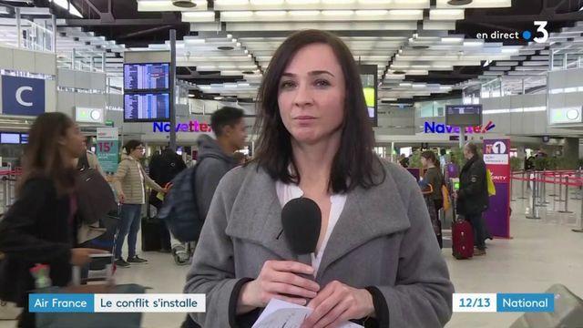 Air France : le conflit s'installe