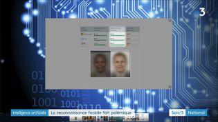 Les logiciels de reconnaissance faciale manquent de fiabilité à mesure que le visage fonce (France 3)
