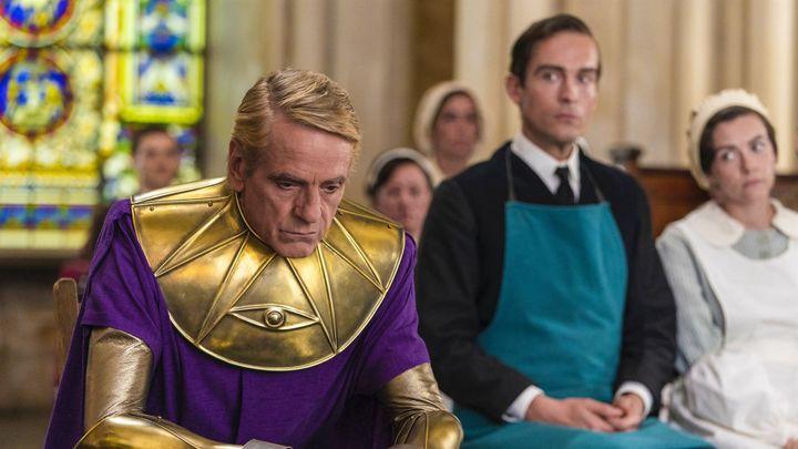 Jeremy Irons incarne Adrian Veidt alias Ozymandias dansWatchmen. (FR_TMDB)