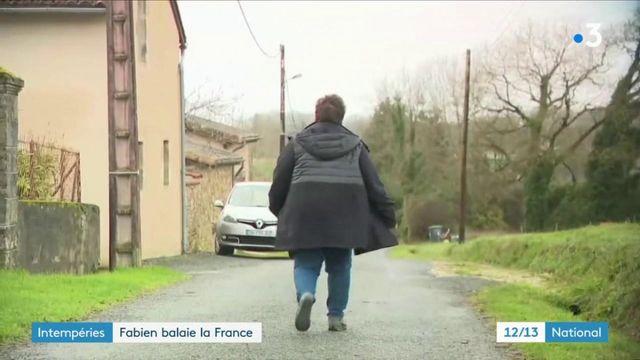 Intempéries : la tempête Fabien balaie la France