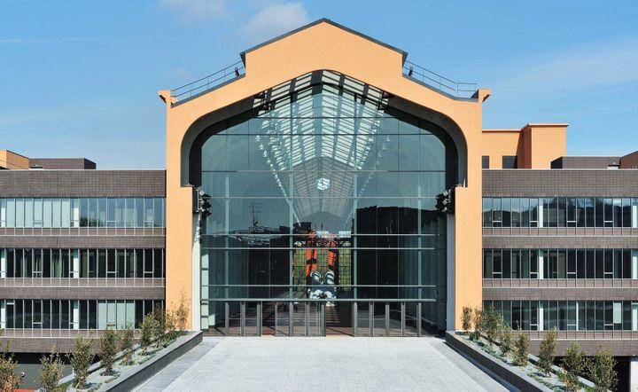 L'entrée des Studios de Paris - La Cité du Cinéma à Saint-Denis  (VILLARD/SIPA)