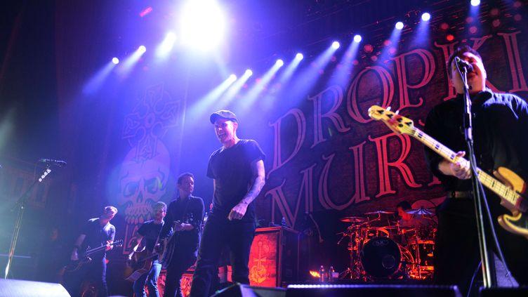 Depuis presque 20 ans, les Dropkick Murphys écument concerts et festivals sans relâche (ROBB D. COHEN/AP/SIPA / AP)