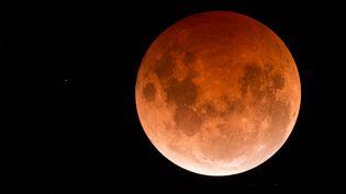"""L'Australien Phil Hart gagne le titre de photo """"Hautement recommandée"""" dans la catégorie """"Our Moon"""" """"Notre lune"""" du concours mondial """"Insight Astronomy Photographer of the Year 2015"""". (PHIL HART)"""