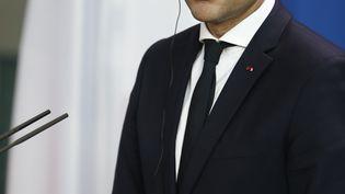 Emmanuel Macron, à Berlin, le 15 mai 2017. (Photo d'illustration) (ODD ANDERSEN / AFP)